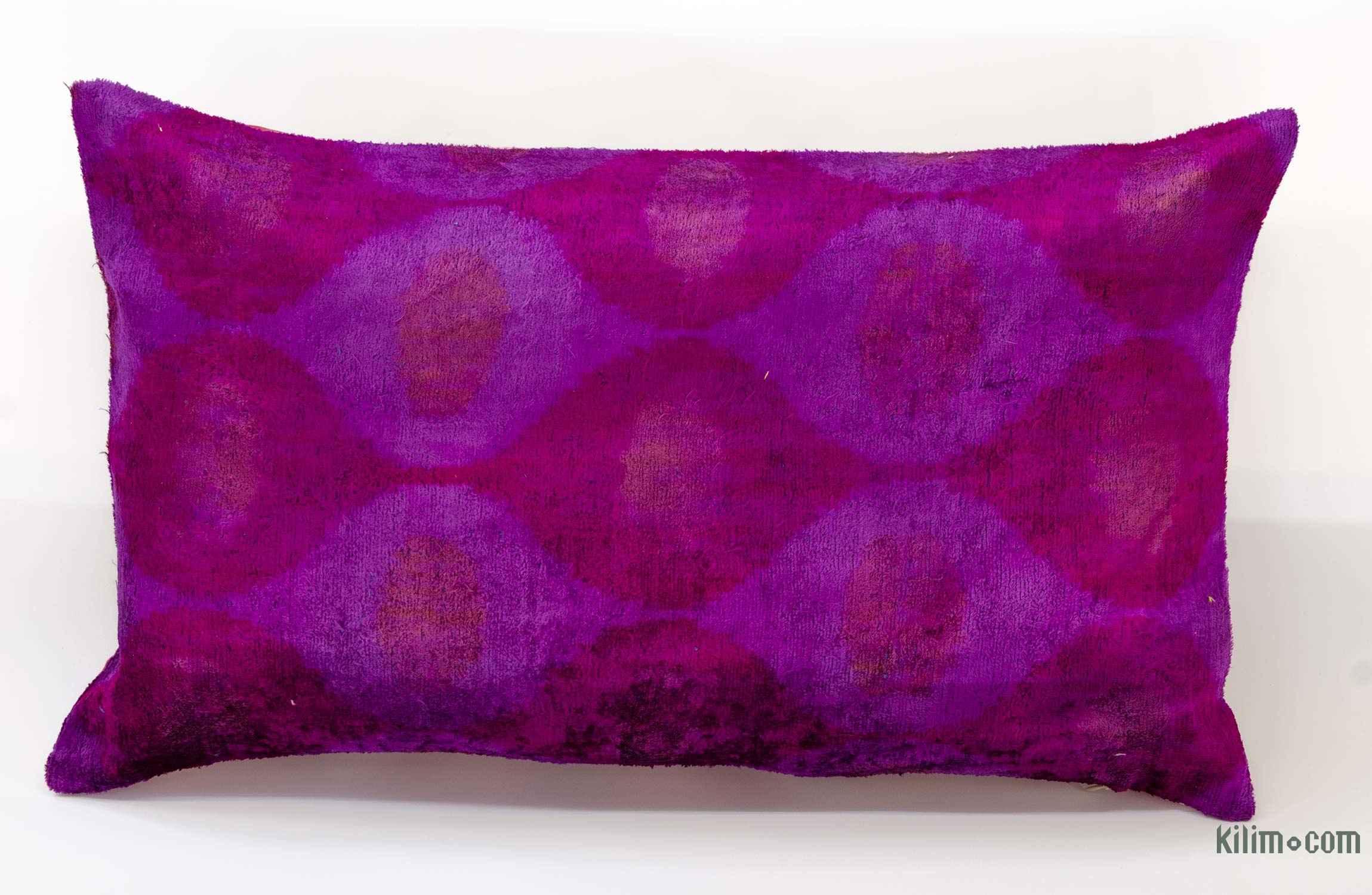 Velvet Ikat Pillow Cover 2 X 1 24 In 14
