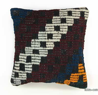 Kilim Pillow Cover - 1'3'' x 1'4'' (15 in. x 16 in.)