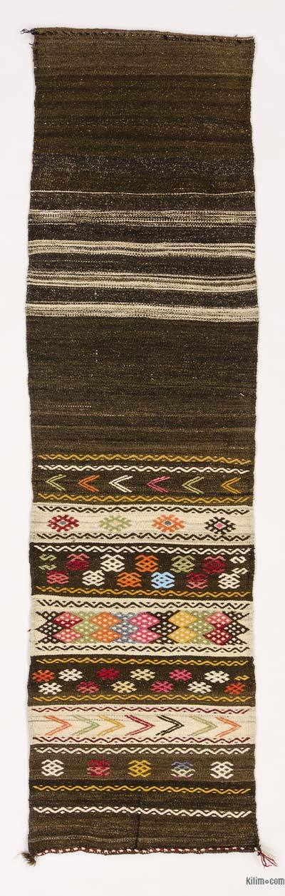 "Vintage Turkish Kilim Runner - 2' x 7'3"" (24 in. x 87 in.)"