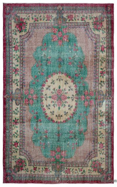 "Turkish Vintage Area Rug - 6'9"" x 11'1"" (81 in. x 133 in.)"