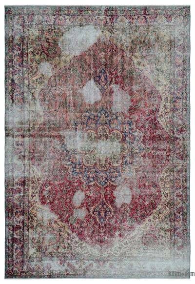 Turkish Vintage Area Rug - 6'9'' x 9'11'' (81 in. x 119 in.)