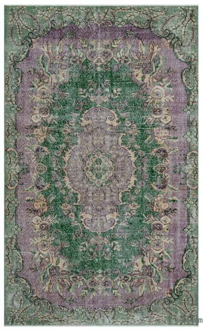 "Turkish Vintage Area Rug - 5'7"" x 9'2"" (67 in. x 110 in.)"