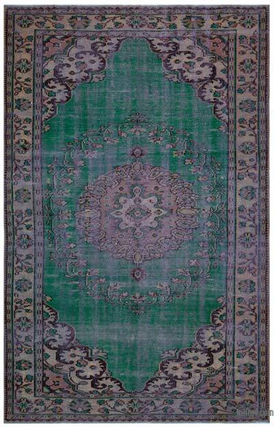 "Turkish Vintage Area Rug - 6'1"" x 9'5"" (73 in. x 113 in.)"