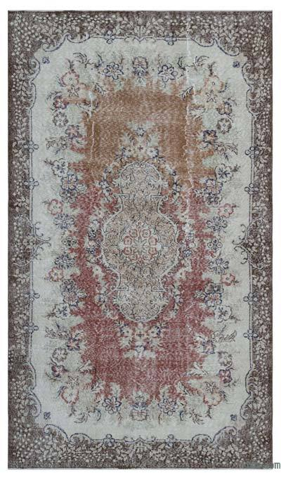 Turkish Vintage Area Rug - 5'10'' x 9'9'' (70 in. x 117 in.)