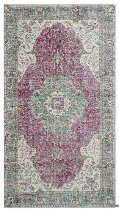 Turkish Vintage Area Rug - 5'9'' x 10'6'' (69 in. x 126 in.)