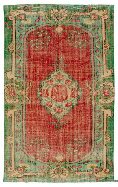 Turkish Vintage Rug - 5'2'' x 8'1'' (62 in. x 97 in.)