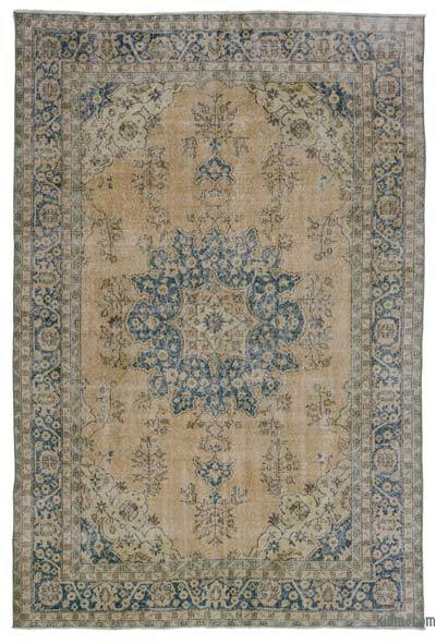 "Turkish Vintage Area Rug - 6'8"" x 9'11"" (80 in. x 119 in.)"