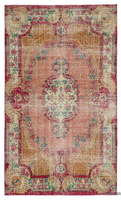Turkish Vintage Rug - 5' x 8'3'' (60 in. x 99 in.)