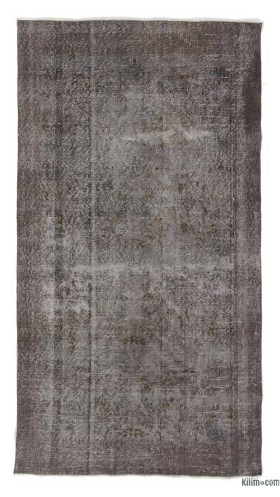 "Over-dyed Turkish Vintage Rug - 3'8"" x 6'10"" (44 in. x 82 in.)"