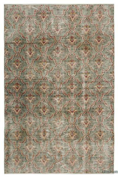 "Turkish Vintage Area Rug - 4'11"" x 7'7"" (59 in. x 91 in.)"