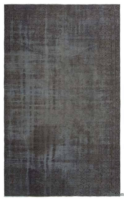 Over-dyed Turkish Vintage Rug - 5'7'' x 9'1'' (67 in. x 109 in.)