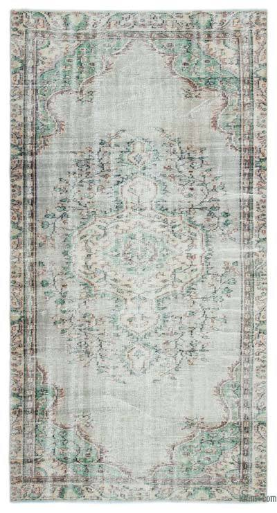 "Turkish Vintage Area Rug - 4'6"" x 8'6"" (54 in. x 102 in.)"