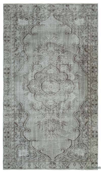 "Over-dyed Turkish Vintage Rug - 5'3"" x 8'11"" (63 in. x 107 in.)"