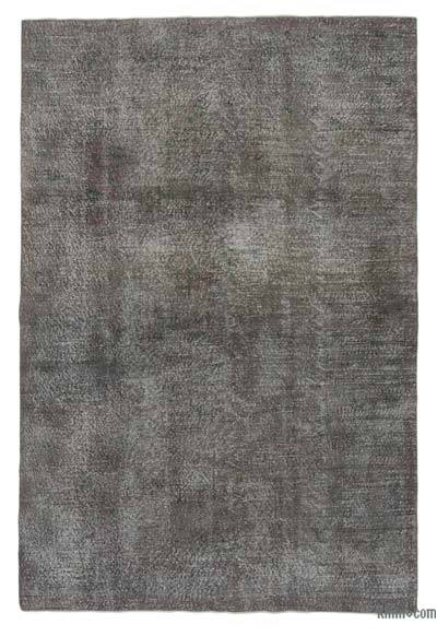 Over-dyed Turkish Vintage Rug - 6'5'' x 9'9'' (77 in. x 117 in.)