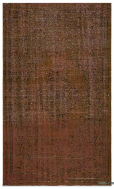 Over-dyed Turkish Vintage Rug - 6' x 10'1'' (72 in. x 121 in.)