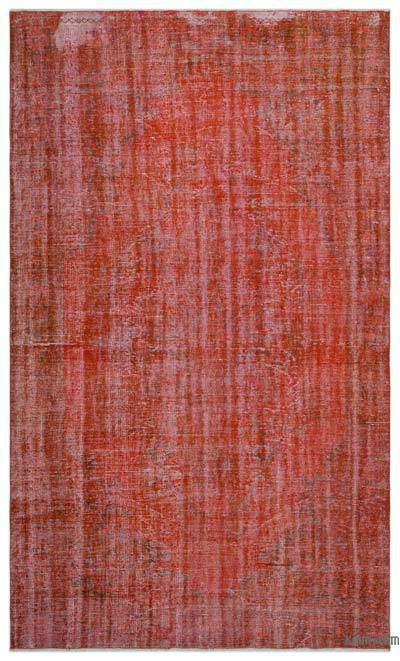 "Over-dyed Turkish Vintage Rug - 6' x 10'3"" (72 in. x 123 in.)"