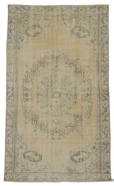 "Over-dyed Turkish Vintage Rug - 5' x 8'11"" (60 in. x 107 in.)"