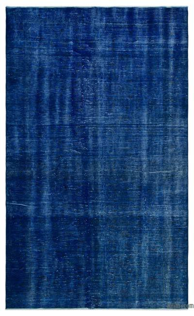 Over-dyed Turkish Vintage Rug - 5'10'' x 9'7'' (70 in. x 115 in.)