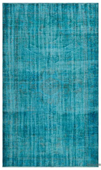 "Over-dyed Turkish Vintage Rug - 5'1"" x 8'10"" (61 in. x 106 in.)"