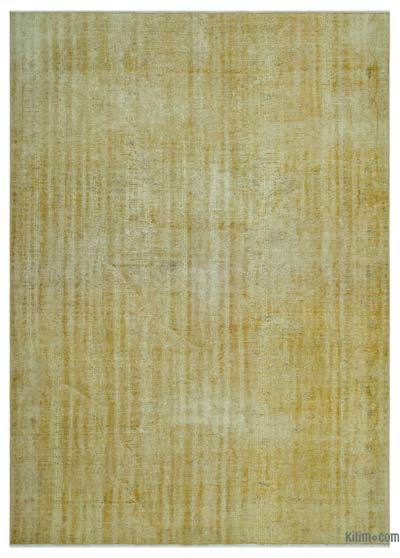 "Over-dyed Turkish Vintage Rug - 6'7"" x 9'4"" (79 in. x 112 in.)"