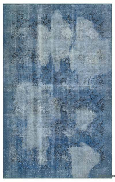 "Over-dyed Turkish Vintage Rug - 6'6"" x 10' (78 in. x 120 in.)"