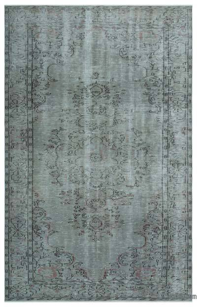 "Over-dyed Turkish Vintage Rug - 5'11"" x 9' (71 in. x 108 in.)"
