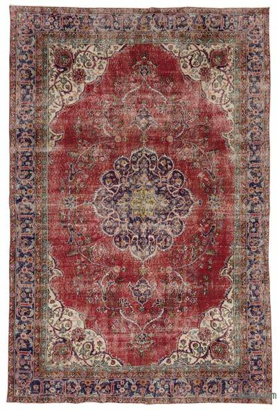"Turkish Vintage Area Rug - 7'3"" x 11'1"" (87 in. x 133 in.)"