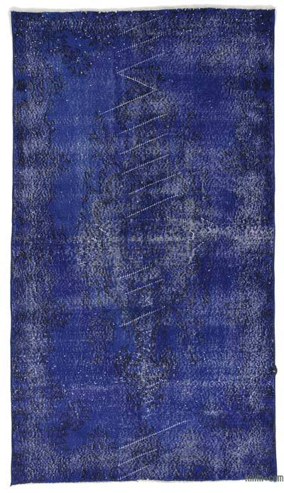 "Over-dyed Turkish Vintage Rug - 3'8"" x 6'9"" (44 in. x 81 in.)"
