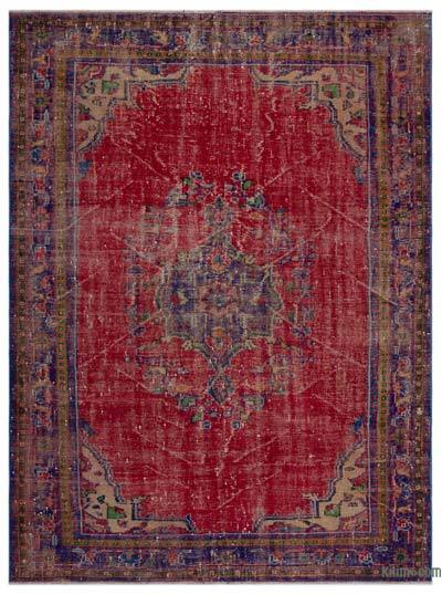 Turkish Vintage Area Rug - 6'8'' x 8'9'' (80 in. x 105 in.)