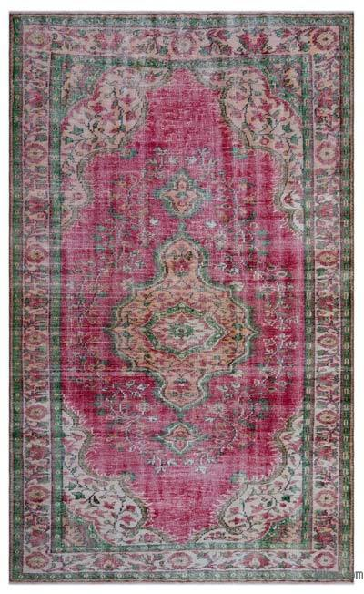 "Turkish Vintage Area Rug - 6' x 9'11"" (72 in. x 119 in.)"