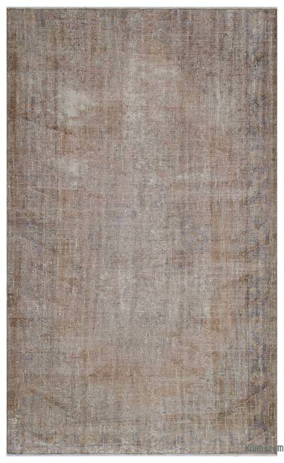 "Over-dyed Turkish Vintage Rug - 5'7"" x 9' (67 in. x 108 in.)"