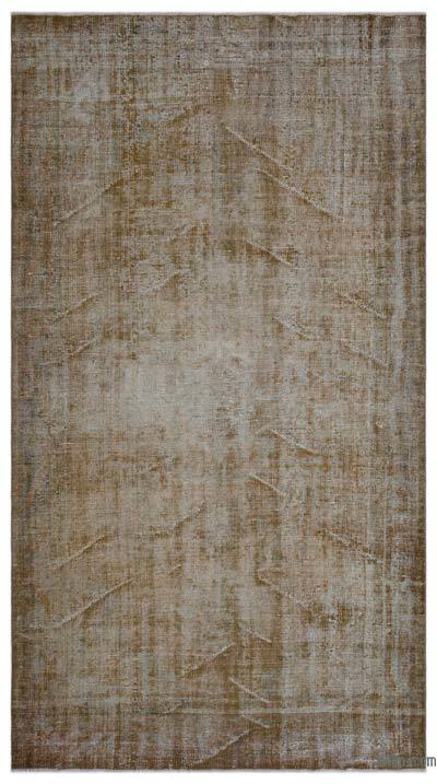"Over-dyed Turkish Vintage Rug - 5'6"" x 10' (66 in. x 120 in.)"