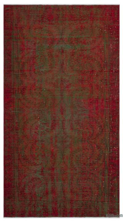 Over-dyed Turkish Vintage Rug - 5'1'' x 9'5'' (61 in. x 113 in.)