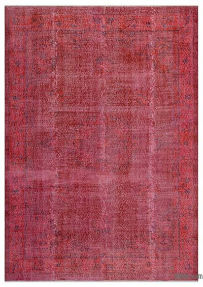 "Over-dyed Turkish Vintage Rug - 6'9"" x 9'6"" (81 in. x 114 in.)"