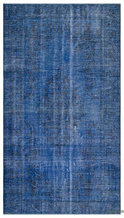 "Over-dyed Turkish Vintage Rug - 5'9"" x 10'3"" (69 in. x 123 in.)"