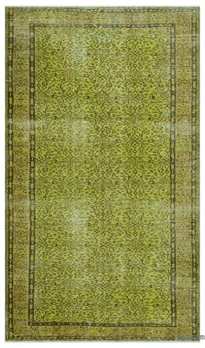 "Over-dyed Turkish Vintage Rug - 5'4"" x 9'1"" (64 in. x 109 in.)"