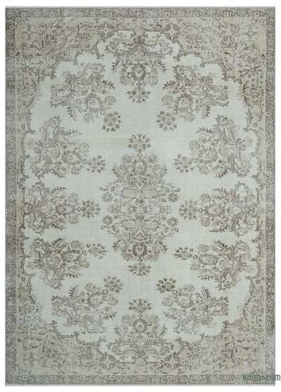 "Over-dyed Turkish Vintage Rug - 7' x 9'9"" (84 in. x 117 in.)"