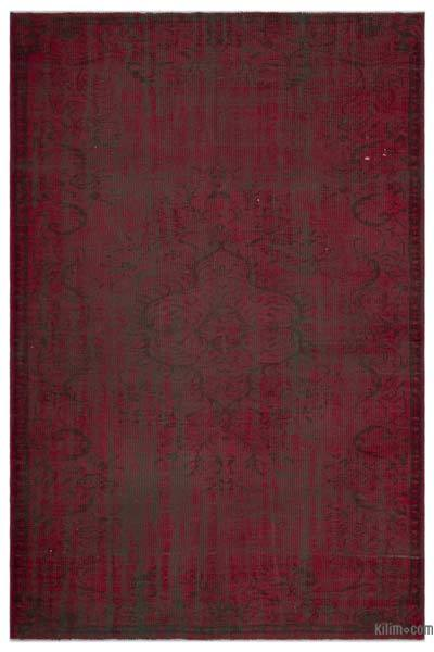 "Over-dyed Turkish Vintage Rug - 5'11"" x 8'9"" (71 in. x 105 in.)"