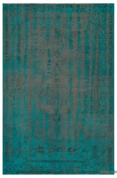 "Over-dyed Turkish Vintage Rug - 5'10"" x 8'6"" (70 in. x 102 in.)"