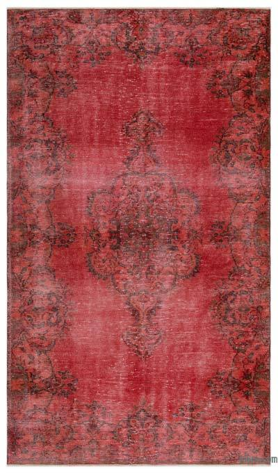 Over-dyed Turkish Vintage Rug - 4'11'' x 8'8'' (59 in. x 104 in.)