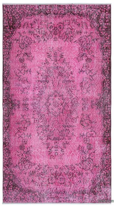 "Over-dyed Turkish Vintage Rug - 3'9"" x 7' (45 in. x 84 in.)"