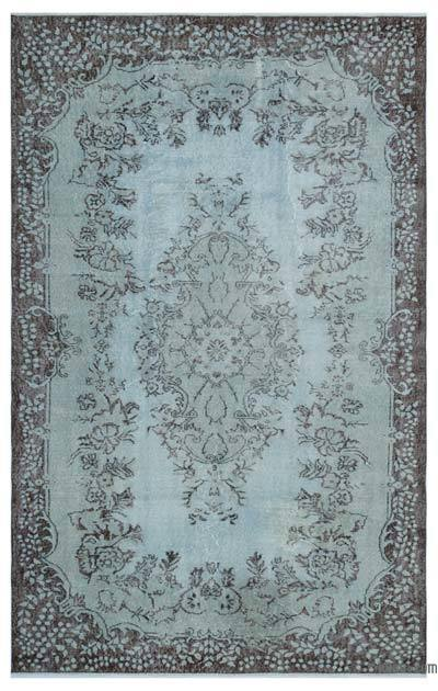 Over-dyed Turkish Vintage Rug - 6' x 9'6'' (72 in. x 114 in.)