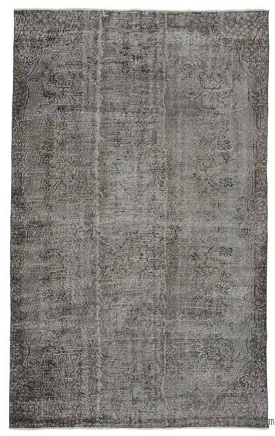 "Over-dyed Turkish Vintage Rug - 5'6"" x 9' (66 in. x 108 in.)"