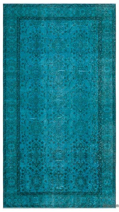 "Over-dyed Turkish Vintage Rug - 4'6"" x 8'2"" (54 in. x 98 in.)"