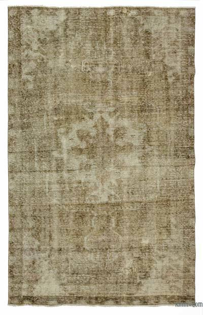 "Over-dyed Turkish Vintage Rug - 4'5"" x 7'3"" (53 in. x 87 in.)"