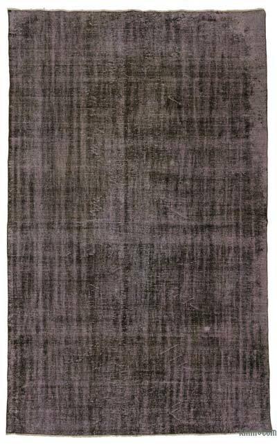 "Over-dyed Turkish Vintage Rug - 6'3"" x 10'2"" (75 in. x 122 in.)"