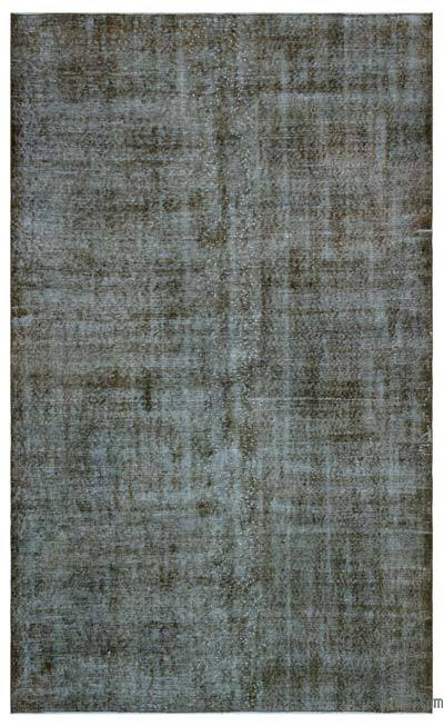 "Over-dyed Turkish Vintage Rug - 5'5"" x 9'1"" (65 in. x 109 in.)"