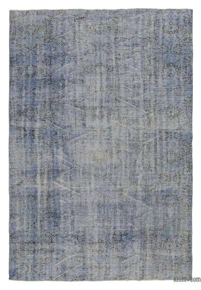 "Over-dyed Turkish Vintage Rug - 7'3"" x 10'4"" (87 in. x 124 in.)"