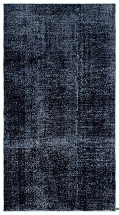 "Over-dyed Turkish Vintage Rug - 4'10"" x 8'10"" (58 in. x 106 in.)"