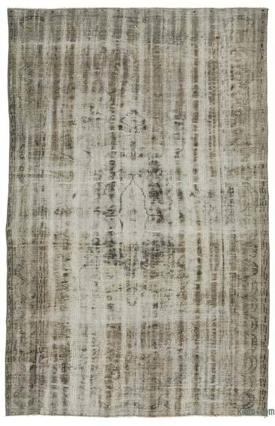"Over-dyed Turkish Vintage Rug - 5'2"" x 8'2"" (62 in. x 98 in.)"